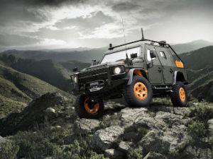 Военный концепт Mercedes Benz