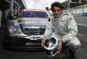 Роджер Федерер и Mercedes Benz