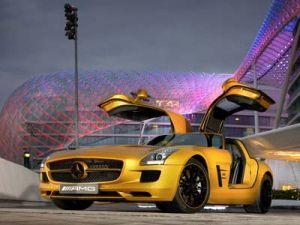 Лучший дизайн от Mercedes Benz  SLS AMG