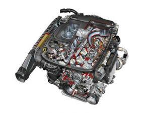 Новый двигатель от Мерседес